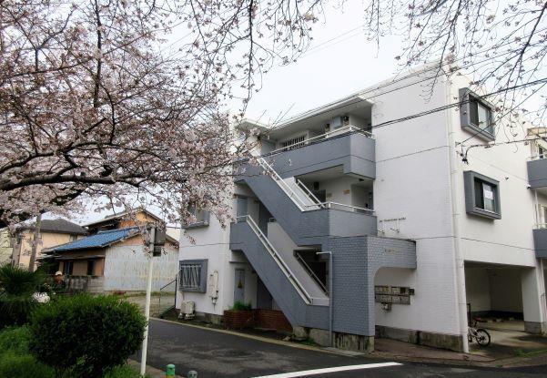 グリーンハイツと桜20200331.jpg