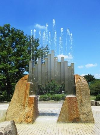 真夏の噴水.JPG